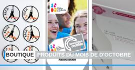 FSCF produits boutique octobre 2019