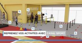 FSCF Casal Sport reprise des activités