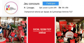 FSCF jeu concours social room