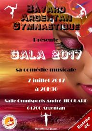 """Gala 2017 """"Bayard Argentan Gymnastique"""""""