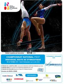 Le championnat national individuel mixte de gymnastique, c'est demain !