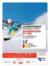 Ski snowboard FSCF