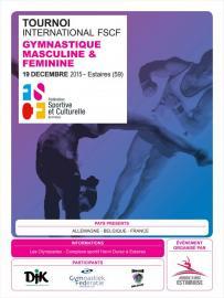 Tournoi international de gymnastique FSCF 2015