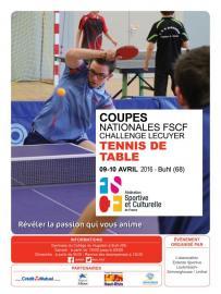 Coupes FSCF Tennis de table