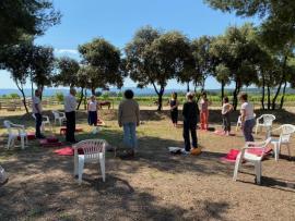 Des ateliers d'initiation à la relaxation et méditation pleine nature