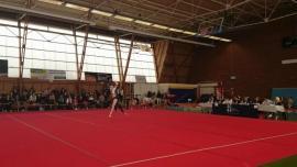 FSCF Championnat départemental - gymnastique féminine à Brest le 22 Avril 2018