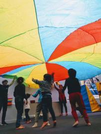 activité éveil de l'enfant groupe enfants
