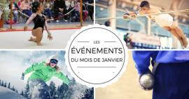 Événements FSCF gymnastique, ski, snowboard, boules