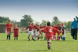 Les images de l'activité de Football à la Fédération