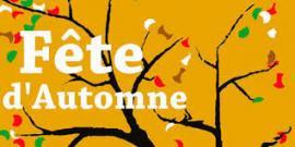 affiche de fêtes en automne