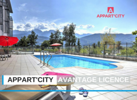 Avantage licence FSCF chez Appart'City