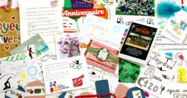 FSCF cartes d'anniversaire GRS
