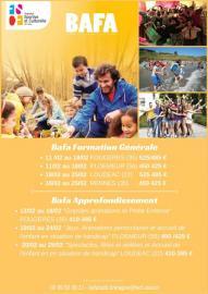 Flyer dates de formation BAFA