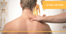 FSCF info sport santé le mal de dos