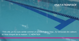 FSCF natation interview Claire héritier