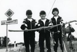 FSCF pèlerinage à Saint-Jacques de Compostelle 1988