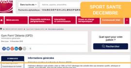 FSCF sport-santé vidal