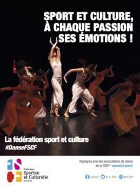 FSCF Activité danse affiche