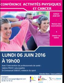 Conférence Activité physique & Cancer
