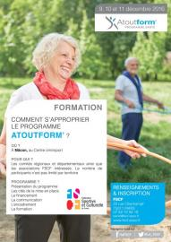 FSCF affiche week end passation Atoutform'