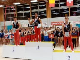 FSCF Fin d'année 2019, des gymnastes en forme : record et résultats à l'international