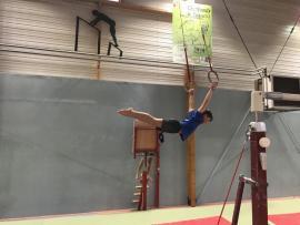 FSCF Les masculins en stage de gym
