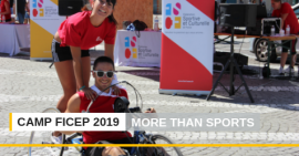 """More than Sport"" sera le slogan du camp 2019"