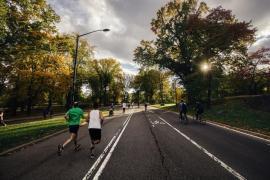 Des gens qui courent