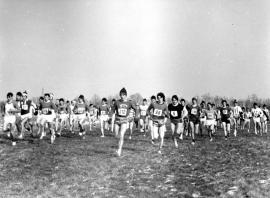 Cross-country: épreuve senior lors du 66e Championnat fédéral du 7 mars 1971 à Cholet
