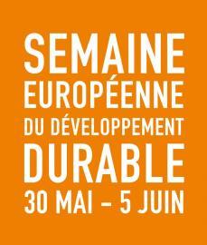 logo orange semaine européenne du développement durable 2016