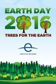 affiche du jour de la terre consacré en 2016 aux arbres