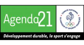 image du logo développement durable le sport s'engage du CNOSF