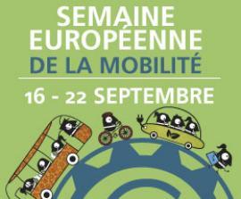 affiche de la semaine européenne de la mobilité