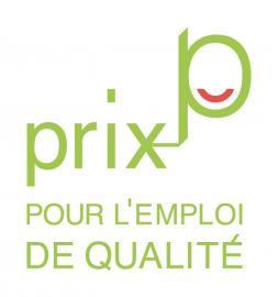 logo du prix pour l'emploi de qualité, initiative du mouvement associatif