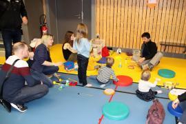 Activités Eveil de l'enfant au programme