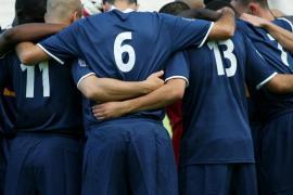 Equipe de foot jeunes