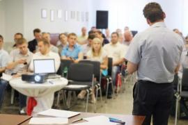 groupe dans salle de classe