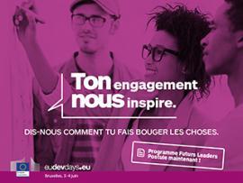 """Affiche """"ton engagement nous inspire"""""""