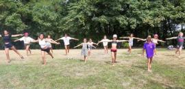 groupe gymnastique féminine