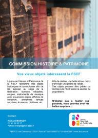 Commission histoire et patrimoine