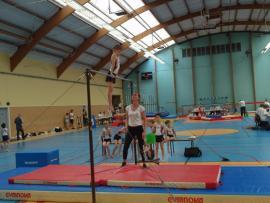 Retour sur la rencontre Poussins en gymnastique masculine