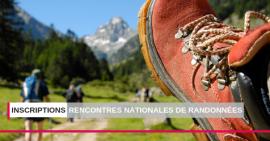 S'inscrire aux rencontres nationales de randonnées et activités de pleine nature