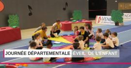 Près de 160 enfants à la dernière journée départementale Eveil de l'enfant