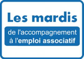 logo des mardis de l'accompagnement à l'emploi associatif