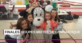 Finales des Coupes mixtes de Gymnastique : une très belle réussite