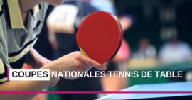 Coupes Nationales Tennis de Table FSCF