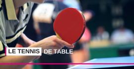 Les multiples facettes du tennis de table