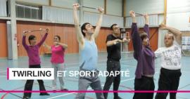 Twirling et sport adapté réunis à l'occasion du championnat régional Équipes et Duos