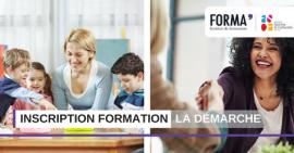 Inscription formation professionnelle ou continue : la démarche