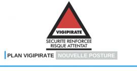 FSCF La nouvelle posture VIGIPIRATE